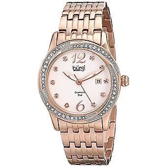 Burgi Clock Woman Ref. BUR102RG