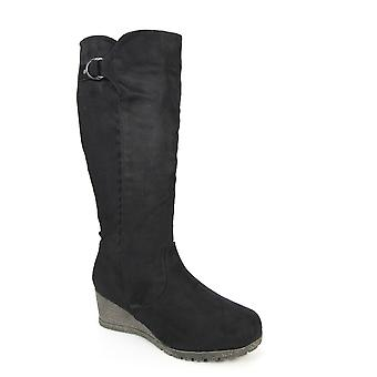 Lunar Baxter Nero Lungo Cuneo Boot CLEARANCE