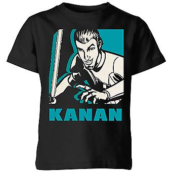 Star Wars Rebels Kanan Kids' T-Shirt - Black