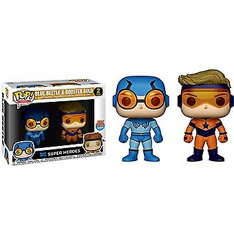 DC Comics Blue Beetle & Booster Gold US Pop! Vinile 2 Pk