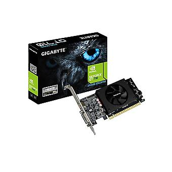 Gigabyte NVidia GeForce GT 710 2GB DDR5 PCIe-video kaart