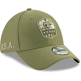 New Era 39Thirty Cap Salute to Service New Orleans Saints