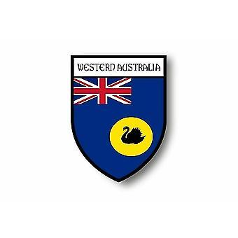 Naklejka Naklejka Naklejka Motocykl Blason FlagAustralia Region Zachodni