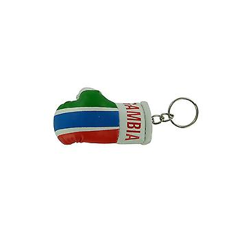 Cle Cles Key Flag Flag Gambia Boxing Glove Flag
