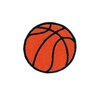 Patch embroidered ecusson applies basketball basketball thermocollant