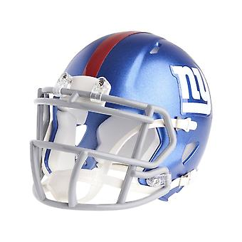 Riddell mini football helmet - NFL New York Giants speed
