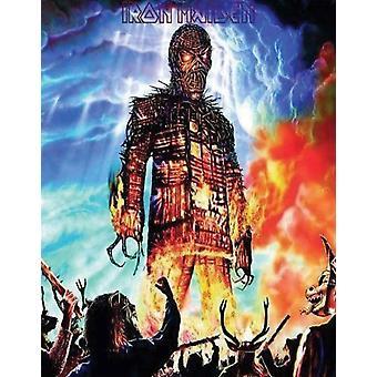 Iron Maiden Wicker Man nieuwe officiële elke gelegenheid wenskaart