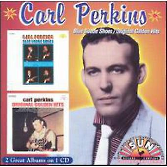 Carl Perkins - Blue Suede Shoes/Original Gold [CD] USA import