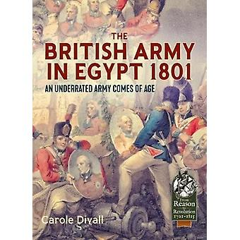 British Army in Egypt 1801 by Carole Divall