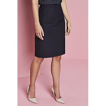 SIMON JERSEY Women's Alderley Pencil Skirt, Blue Sharkskin