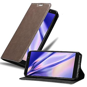 Cadorabo case cover for Alcatel 3X case cover - magnetic clasp