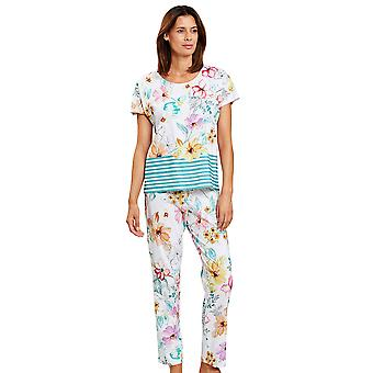 Rösch 1203133-16363 Femei's New Romance Multicoloured Flowers Pijama Set