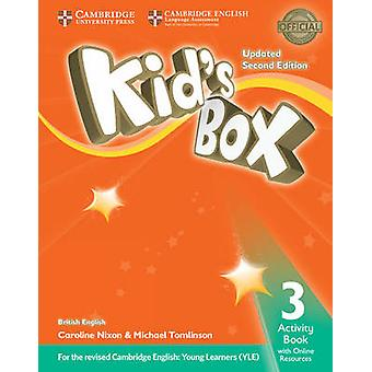 Kids Box Level 3 Activity Book with Online Resources British English by Nixon & CarolineTomlinson & Michael