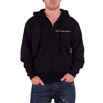 Bring Me The Horizon Mens Hoodie Black Sempiternal Official Zipped