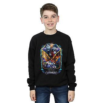 Disney Boys Onward Group Crest Sweatshirt