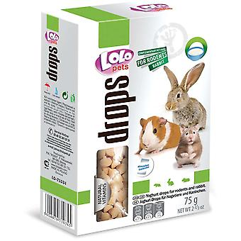 Lolo Drops de Yogurt 75G (Small pets , Treats)
