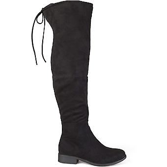 Brinley Co Women's Spur Over The Knee Boot