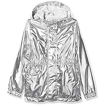 Limited Too Girls' Big Anorak, Metallic/Silver, 7/8