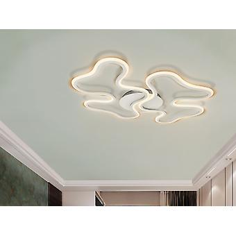 Schuller Marea - LED ceiling or wall lamp, made of metal and aluminium, sanded white finish. Opal silicone diffuser. 28W LED, 1500 lm, 3000 K. - 723714