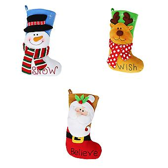 Christmas Shop Bright Character Stocking