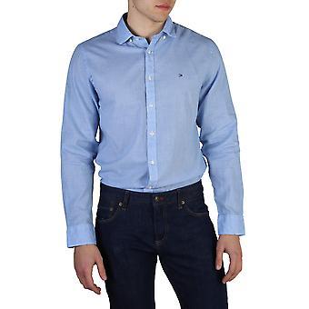 Tommy Hilfiger Original Men All Year Shirt - Blue Color 41969
