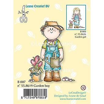 LeCrea Clear Stamp - Bambinie Garden Boy