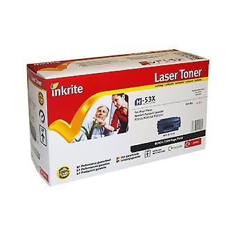 Inkrite Laser Toner Cartridge compatibel met HP LaserJet P2015 Hi-Cap zwart