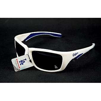 Los Angeles Dodgers MLB Polarized Sport White Frame Sunglasses