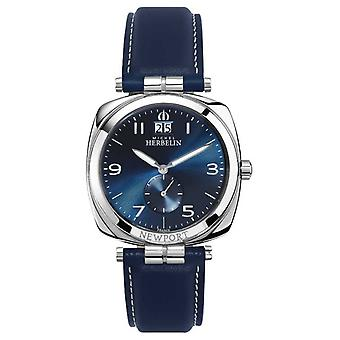 Michel Herbelin Newport Unisex Blue Dial / Strap 18264/AP15BL Watch