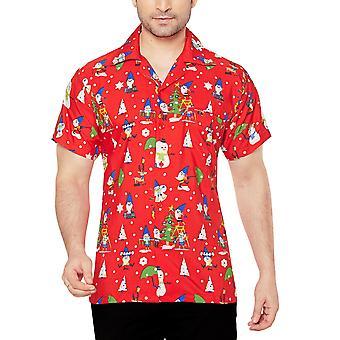 Club cubana men's regular fit classic short sleeve casual shirt ccx23