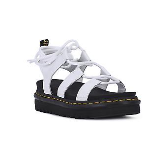 Dr. Martens Nartilla 24641100 sapatos femininos universais de verão