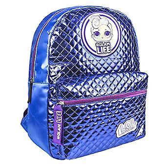 Artesania Cerda Mochila Casual Moda Lol Backpack - 40 cm - Blue (Azul)