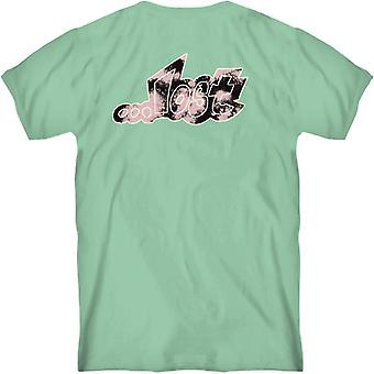 Lost outline tee mint