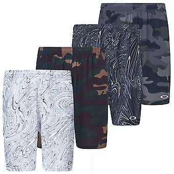Oakley Mens 2020 Enhance Graphic 10.0 Moisture Wicking Shorts