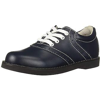 Kids Academie Gear Girls Cheer Leather Lace Up Oxfords