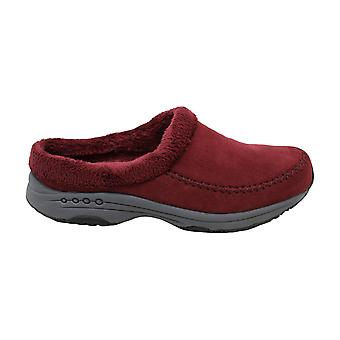 Easy Spirit Womens Travel time Fabric Closed Toe Mules