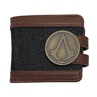 Assassin's Creed Metal Badge Premium Bi-Fold Wallet