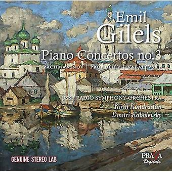 Emil Gilels - Emil Gilels Plays Russian Piano Concertos [CD] USA import
