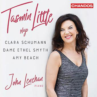 Tasmin Little Plays Clara Schumann & Amy Beach [CD] USA import