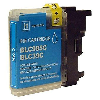 RudyTwos Replacement for Brother LC-985C Ink Cartridge Cyan Compatible with MFC-J220, J265W, J410, DCP-J125, J315W, J415W, J515W