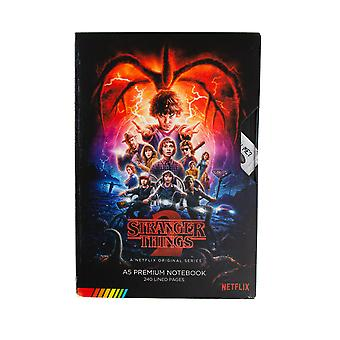 Officiel Stranger Things Saison 2 VHS A5 Premium Notebook / Journal