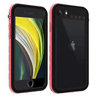 Protective Case for Apple iPhone SE 2020/8/7 Waterproof Screen protector Pink