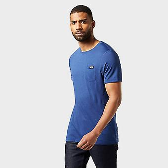North Ridge Men's Peak Merino T-Shirt Blue