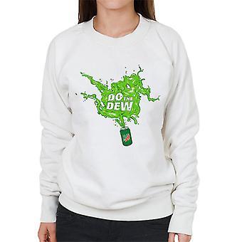 Berg dauw doen de dauw Spilt overal vrouwen ' s Sweatshirt