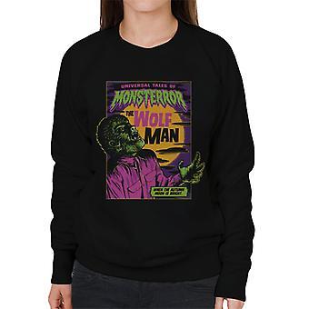 The Wolf Man Tales Of Monsterror Women's Sweatshirt