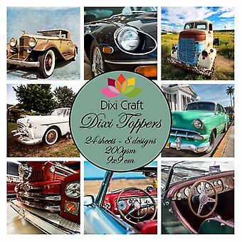 Dixi Craft Dixi Toppers 9x9cm Automobile