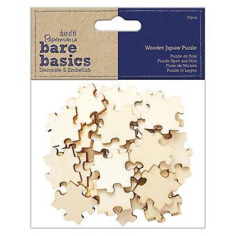 Papermania Bare Basics Træ puslespil (36pcs) (PMA 174550)