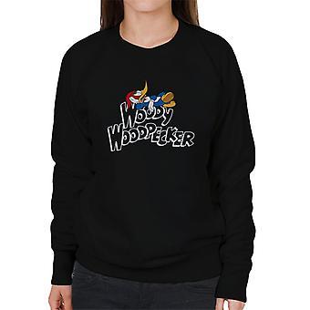 Woody Woodpecker Chilling Logo Women's Sweatshirt