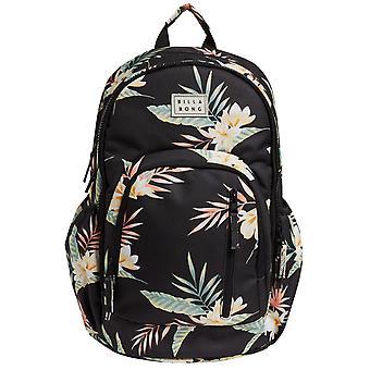 Billabong Roadie Backpack in Black/Green