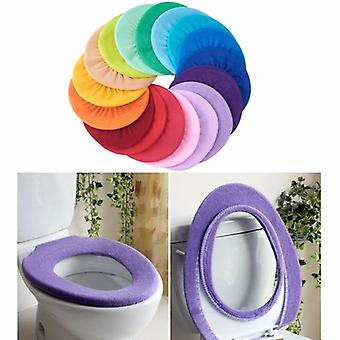 Badkamer toiletstoelhoes, closestool wasbare zachte warmere mat pad kussen